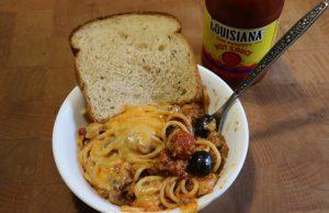 Tex-Mex Spaghetti