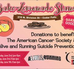 Bake-Lemonade Stand Poster