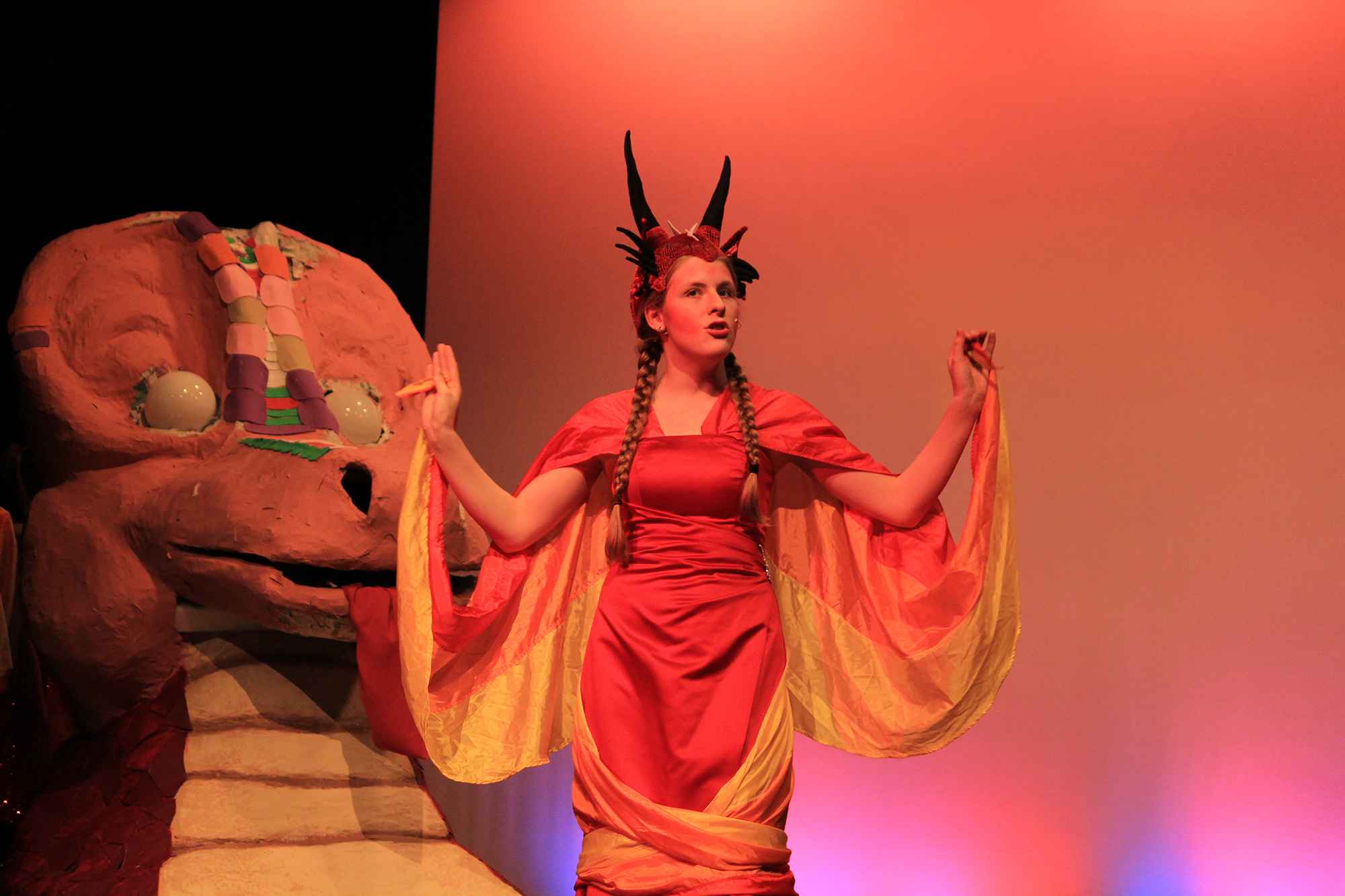 Sylvia Brown as Dragon