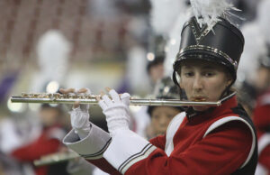 This year the bands were not able to perform live in front of any audiences, including the marching band slots during home football games in the Dome.